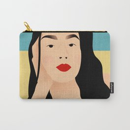 Portrait of a loved one - Beach series Carry-All Pouch