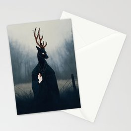 Deep Forest Saint Stationery Cards