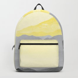 Illuminating Yellow 2021 Color Of The Year Pantone Mountains Adventure II Backpack