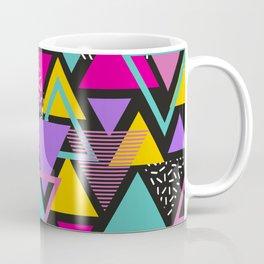 Memphis Triangles Coffee Mug
