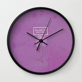 You are the only one Wall Clock