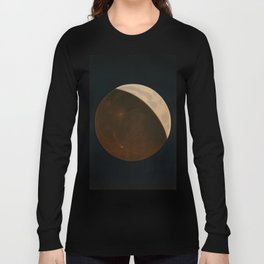The Trouvelot astronomical drawings - 1882 Moon Long Sleeve T-shirt