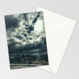 Thunder is coming Stationery Cards