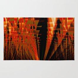 Citadel Abstract Fractal Art Rug