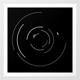 Orbital Mechanics by Diagraf and Ewerx Art Print