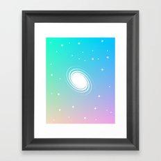 Von Neumann Machine – galaxy Framed Art Print