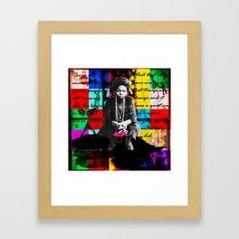 Ode to Nina Framed Art Print