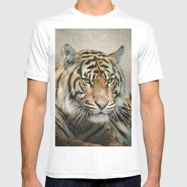 Tiger looking T-shirt