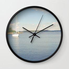 Morning on Chesapeake Bay Wall Clock