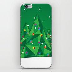 Vector Christmas Tree iPhone & iPod Skin