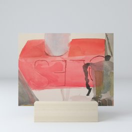 Around a Shoe Box Mini Art Print