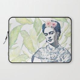 Viva la Frida   Watercolor Laptop Sleeve