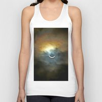 ruben Tank Tops featuring Solar Eclipse 2 by Aaron Carberry