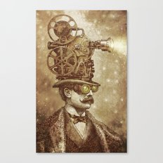 The Projectionist (sepia option) Canvas Print