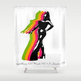 leigh bowery Shower Curtain