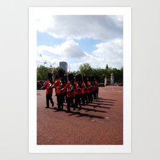 Soldiers March 10 Art Print
