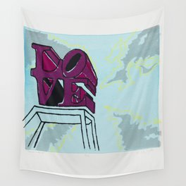 LOVE PARK Wall Tapestry