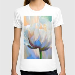 Coco In Love Poppy Floral Art T-shirt