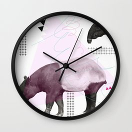 tapirism one Wall Clock