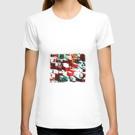 Mint Red Shipping Containers  T-shirt