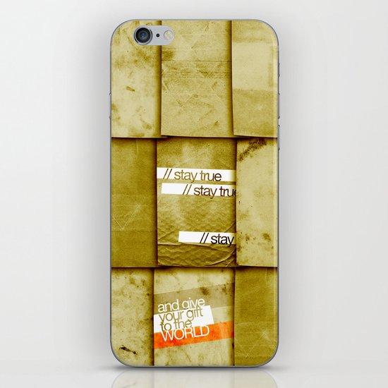 art 2 iPhone & iPod Skin