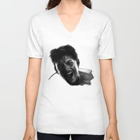 scream V-neck T-shirts featuring Scream by Hellcat