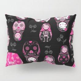 Russian/Mexican nesting dolls Pillow Sham