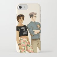 snk iPhone & iPod Cases featuring flowers in yo pants by JohannaTheMad