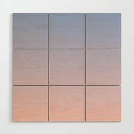 Ombre | Serenity and Rose Quartz | Pantone Colors of the Year 2016 Wood Wall Art