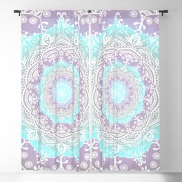 Mandala Heaven Spiritual Zen Bohemian Hippie Yoga Mantra Meditation Blackout Curtain