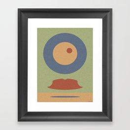 REMEMBER MOVEMBER Framed Art Print
