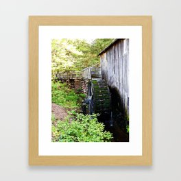 Cable Mill in Cades Cove Framed Art Print