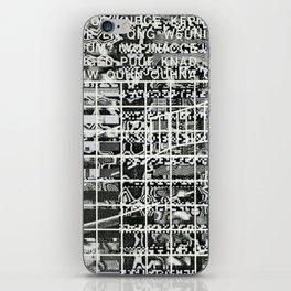 A Symbol of Belonging (P/D3 Glitch Collage Studies) iPhone Skin