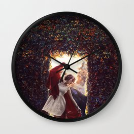 the gate keeper Wall Clock