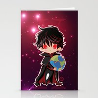 chibi Stationery Cards featuring Chibi Kamui by Neo Crystal Tokyo