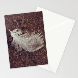 Beach Feathers 2 Stationery Cards