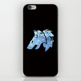 Wolves on the horizon iPhone Skin