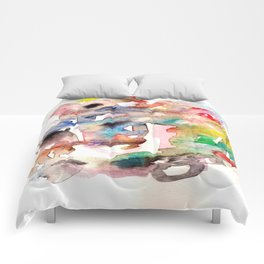Watercolor 758 ing Comforters