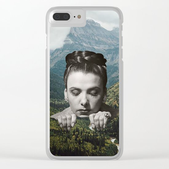 Valley Girl Clear iPhone Case