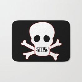 Pirate flag Bath Mat