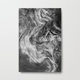 A Gnarly Grain Metal Print