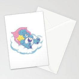 Sleeping lovebear Stationery Cards
