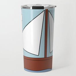 Simpsons Boat Picture Travel Mug