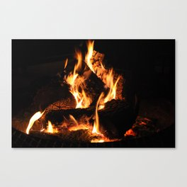 Warm me up Canvas Print