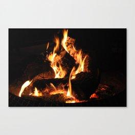 Warm me up Canvas Print