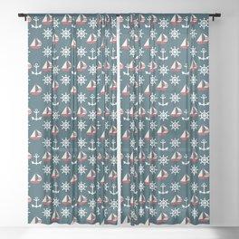 Shipped Sheer Curtain