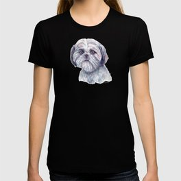 Shih Tzu - Dog Portrait T-shirt