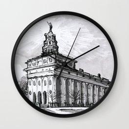Nauvoo Illinois Temple Wall Clock
