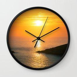Pontal do Atalaia Sunset Wall Clock