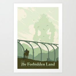 Visit The Forbidden Land Art Print